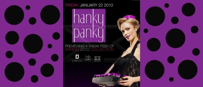 HANKY PANKY FASHION SHOW