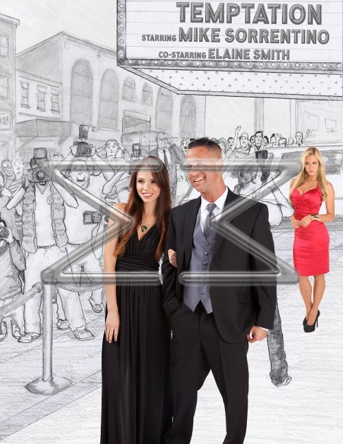 Mike 'The Situation' Sorrentino Displays Tuxedo Line with Commercial Models